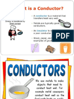 7. 2 Conductor and Insulator