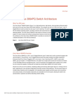 Cisco Nexus 3064PQ Switch Architecture