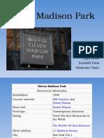 Eleven Madison Park - prezentare