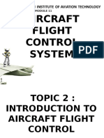 Aircraft Flight Control System
