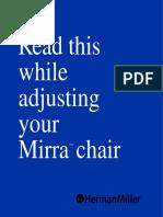 Mirra chair user manual