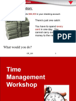 OP 220 Time Management Workshop