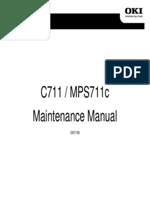 C711 / MPS711c Maintenance Manual