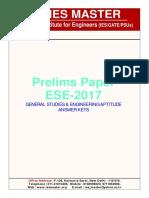 ESE 2016 candidates