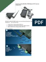 Industrial Grade Serial Device Server