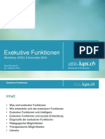 Exekutive Funktionen - Workshop