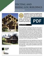 Finishing Log Homes