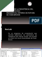 Análisis de La Resistencia Del Macizo Rocoso