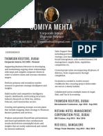 somiya mehta  corporate