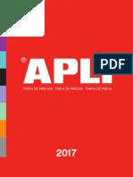 Catalogo Apli General 2017