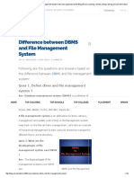 Difference Between DBMS and File Management System Interview QuestionsOurEdu Blog _ Exam,Coaching, Schools,College Ranking and Job Information