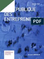 Vincent Lorphelin - La République des entrepreneurs