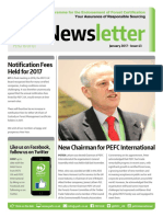 PEFC Newsletter January 2017