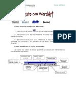 Cómo Insertar Texto Con WordArt