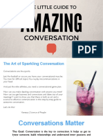 The Little Guide to Amazing Conversation Updated 10.11.2016