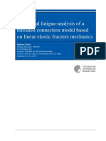 Numerical fatigue-analysis of a threaded connection model based on linear elastic fracture mechanics