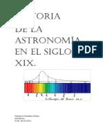 Historia de la Astronomía en el s.XIX
