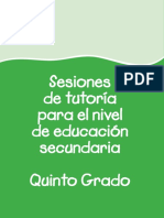Tutoria 5to Grado