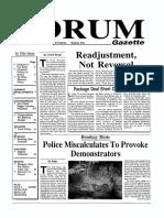 The Forum Gazette Vol. 4 No. 5 March 15-31, 1989