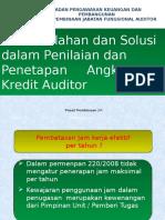 Permasalahan Angka Kredit Auditor APIP