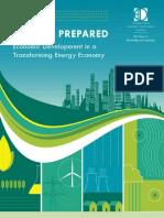 Economic Development in a Transforming Energy Economy