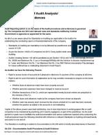 General Checklist of Aud..