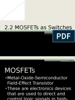 Mosfets as Switches (Final)