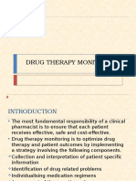 Drug Therapy Monitoring