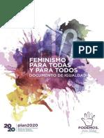 'Feminismo para todas y todos'