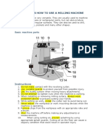 Instructions How to Use a Milling Machine2