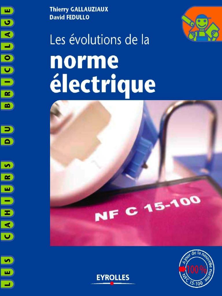 2004 Eyrolles Les Evolutions De La Norme Electriquepdf