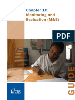 Chapter 10 Monitoring and Evaluation