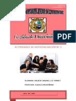 ACTIVIDADES DE AUTOEVALUACIÓN Nº2