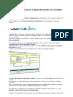 Franchising Lavanderia a Domicilio Online con Gestione Lavanet SaaS
