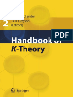 [Friedlander & Grayson Et. Al. 2005] - Handbook of K-Theory
