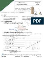 s s-4 trigonometry