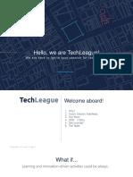 TechLeague Onboarding Presentation