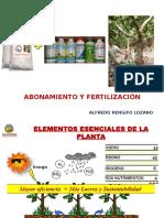 Taller de Abonamiento y Fertilización - Alfredo