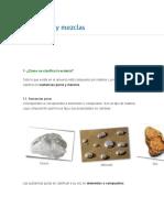 Materiales y Mezclas