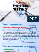 Hypothesis Testing T-test