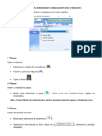 Roteiro Para Manusear o Simulador SSCNC