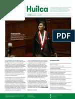 Indira Huilca | Boletín 01 Julio 2016-Enero 2017