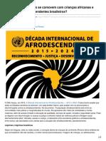 Por Que Os Brasileiros Se Comovem Com Crianças Africanas e Não Com Os Afrodescendentes Brasileiros