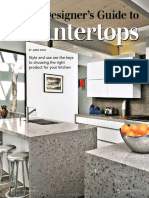 Designers Guide to Countertops