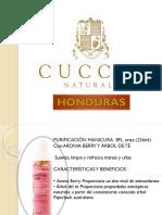 Nueva Linea de Cuccio Naturale HONDURAS