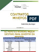 3_contratos Mineros y Casuistica Gabriela Jauregui
