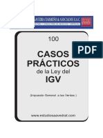 100 Casos Practicos Del Igv