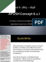 APUSH - Concept - 6.2.I - Harding