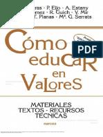 Cómo educar en valores.pdf