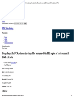 Fungal-specific PCR Primers Developed f..